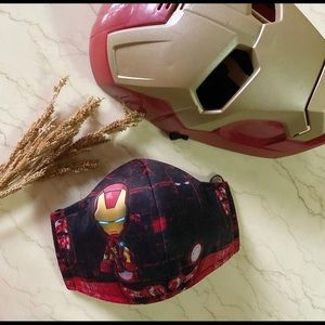 Iron Man Breathable Kids Face Mask